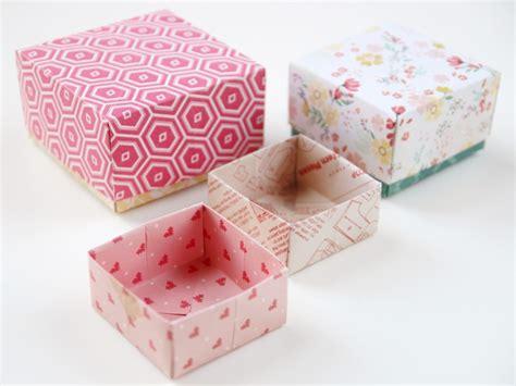 origami gift box diy origami gift boxes gathering
