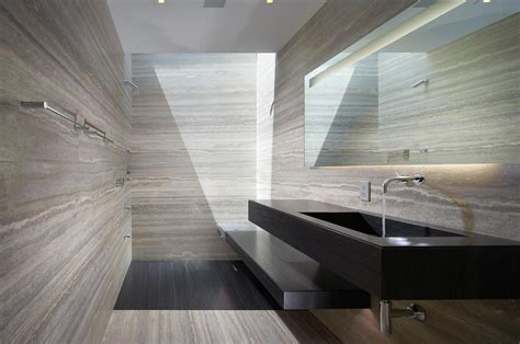 modern marble bathroom 10 luxurious ways to decorate with travertine in your