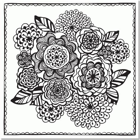 designs for adults mexican folk coloring pages coloring home