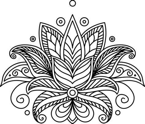 Home Textile Design Jobs 9688811 turkish or persian floral design jpg