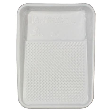 9 In X 15 1 4 In Plastic Paint Tray Liner Rm 411 The