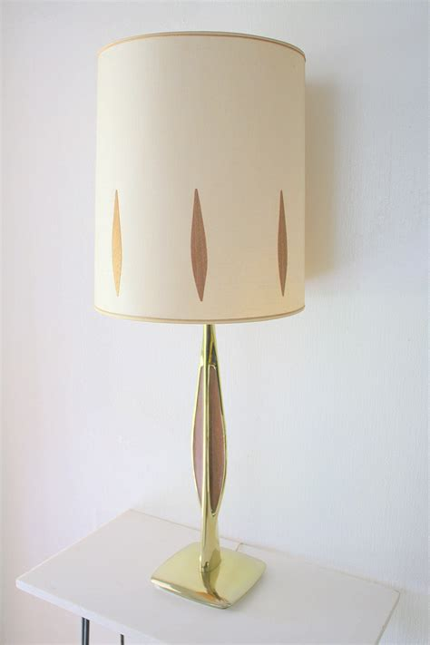 mid century modern lamps picked vintage