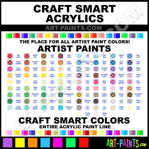 craft smart acrylic paint on canvas acrylic paints for crafts