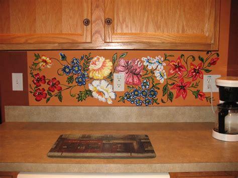wall murals for kitchen kitchen excellent ideas for kitchen decoration using