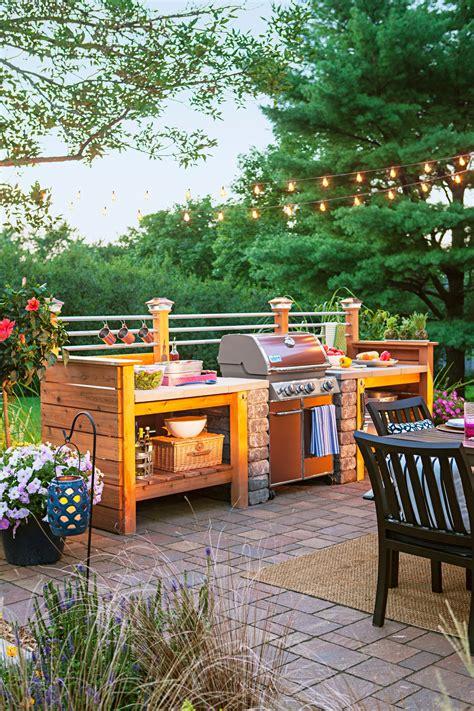 outdoor kitchen gardens 95 cool outdoor kitchen designs digsdigs
