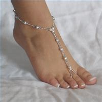 how to make beaded foot jewelry bare foot dw brides diy project wedding forums