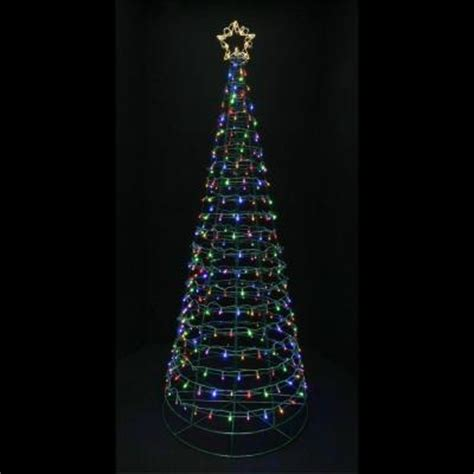 home accents lights home accents 6 ft pre lit led twinkling tree