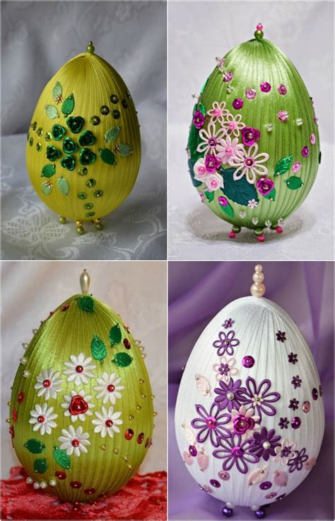 egg craft for 10 diy easter craft ideas using styrofoam eggs for adults