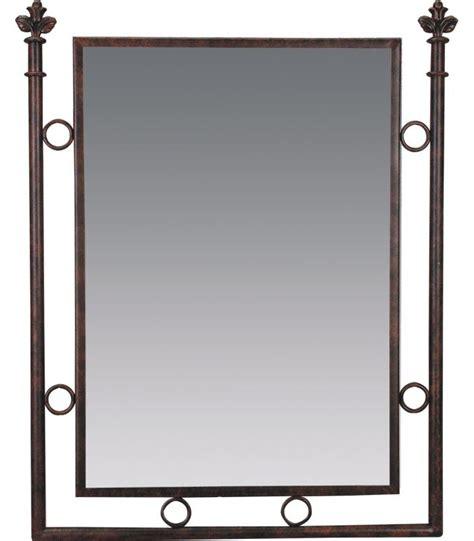 miroir de salle de bains fer forg 233