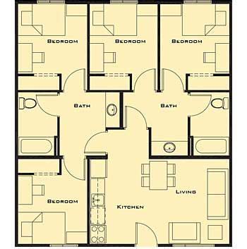 4 bedroom cabin plans small 4 bedroom house plans free home future students