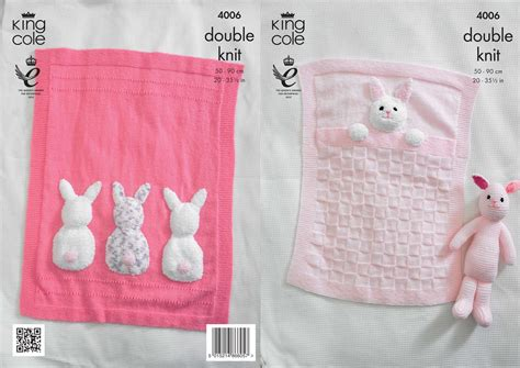 knitted bunny blanket pattern 4006 knitting patterns baby blankets and bunny rabbit