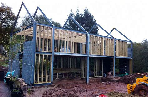 Structural Insulated Panel Home Kits a barn style stone home homebuilding amp renovating
