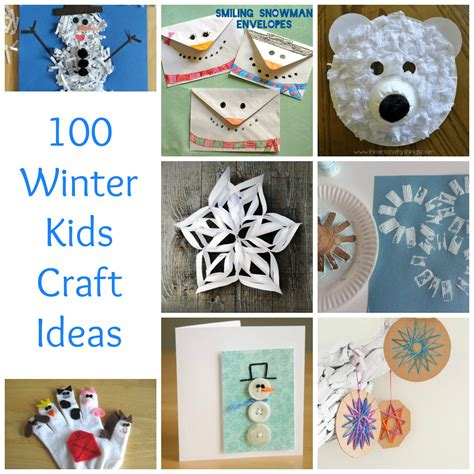 winter craft projects 100 winter craft ideas make and takes