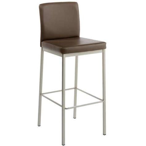 tabouret de bar de cuisine en m 233 tal et synth 233 tique villa 4 pieds tables chaises et tabourets