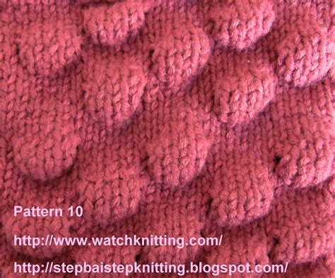 free knitting stitches free knitting lessons and patterns free patterns