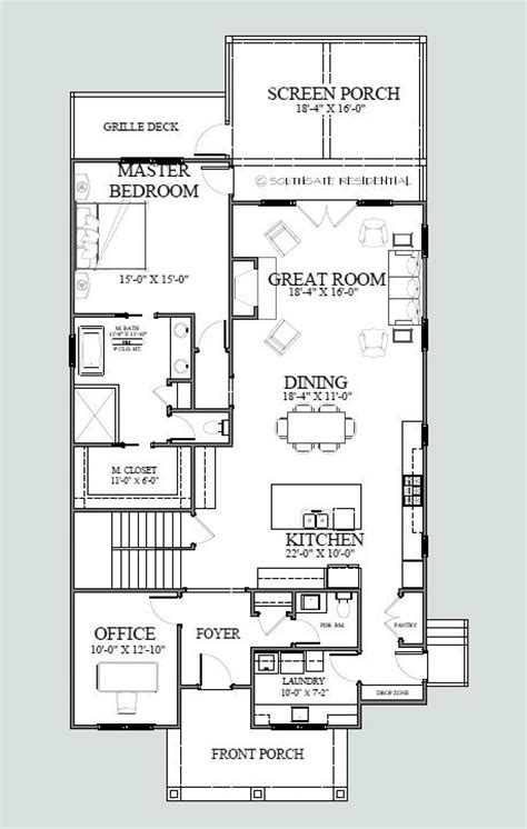 house floor plans for narrow lots 17 best ideas about narrow lot house plans on