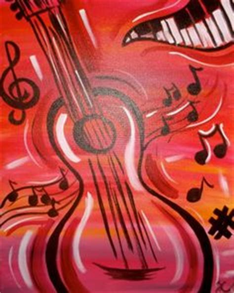 paint nite dallas musical notes painting ideas musicals