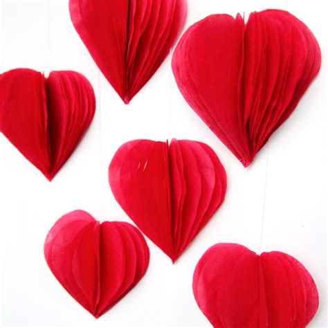 easy paper decorations for 19 easy diy paper decorations for valentine s day