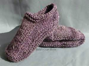knitting slippers knitted slippers billie s craft room