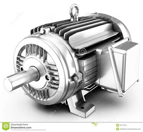 Big Electric Motor by 3d Big Electric Motor Stock Illustration Illustration Of