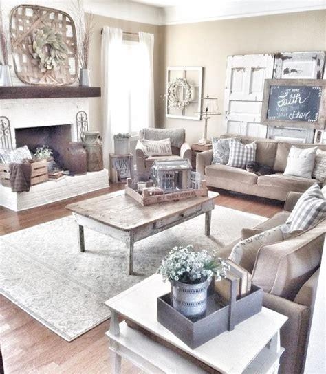 Farmhouse Livingroom 45 comfy farmhouse living room designs to steal digsdigs