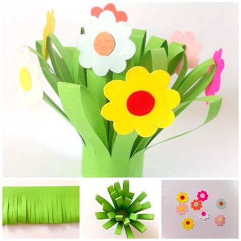 flowers crafts for paper flower bouquet crafts