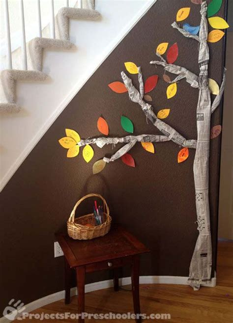 thankful tree craft for festive 12 easy thanksgiving crafts for the