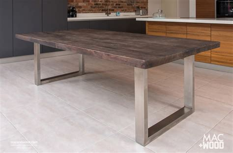 wooden kitchen tables the signature table by mac wood see our most popular design