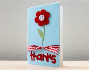 how to make handmade greeting cards for teachers day flower thank you appreciation card flowers