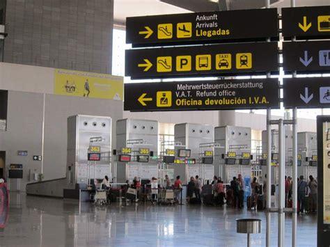 aeropuerto de m laga salidas turismo el aeropuerto de m 225 laga costa del sol estrena
