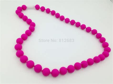 wholesale teething new bpa free silicone teething necklace and wholesale baby