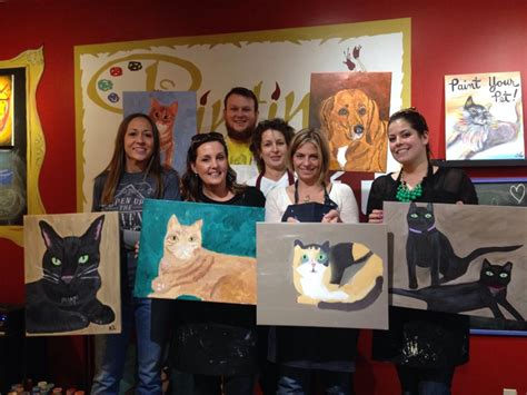 painting with a twist paint your pet hcmt hcmt meows