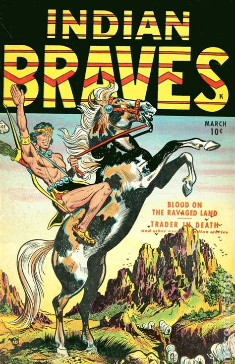 indian picture books indian braves 1951 comic books