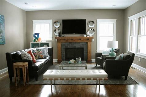 arrange furniture in living room how to arrange living room furniture with fireplace and tv