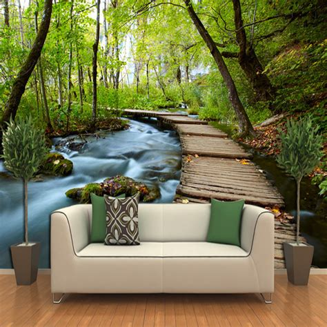 paper wall murals 3d three dimensional wallpaper landscape wallpaper murals