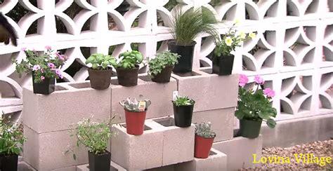 cinder block garden wall how to build a cinder block garden wall lovina