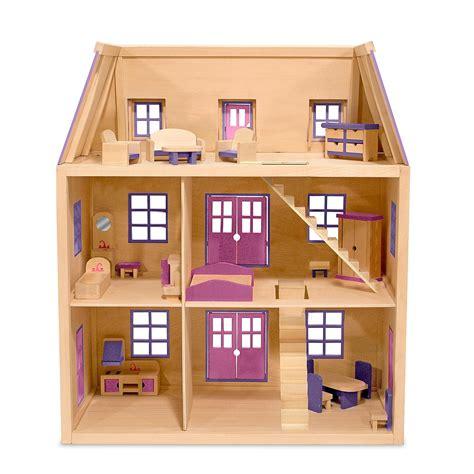 dollhouse woodworking plans doug multi level wooden dollhouse