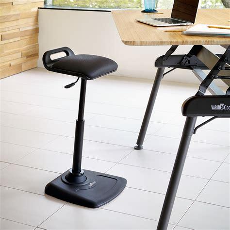 desk standing standing desk office chair varichair varidesk 174