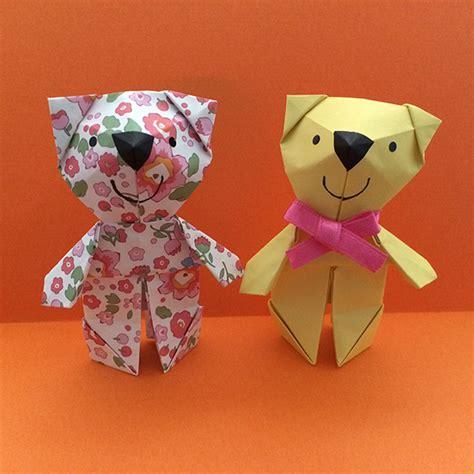 origami teddy shoko origami