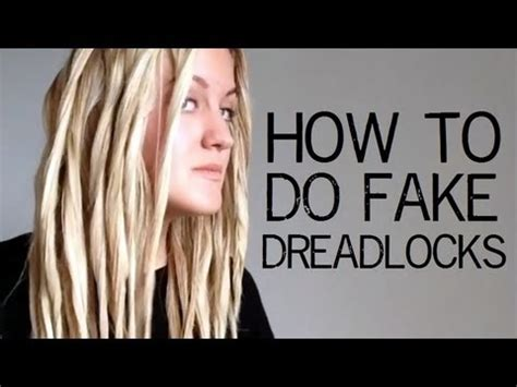 how to make dread tutorial how to do dreadlocks