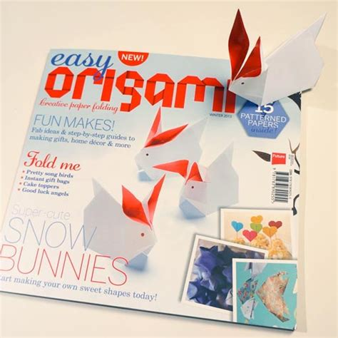 origami magazine easy origami a new and lovely origami magazine