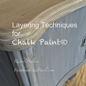 chalk paint wash tutorial chalk painting techniques color washes brushing etc