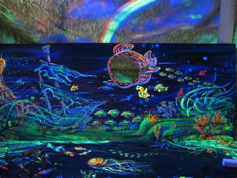 glow in the painting 3d glow in the painting biomes marine
