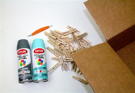 Instagram Clothespin Wreath With Krylon A Craft