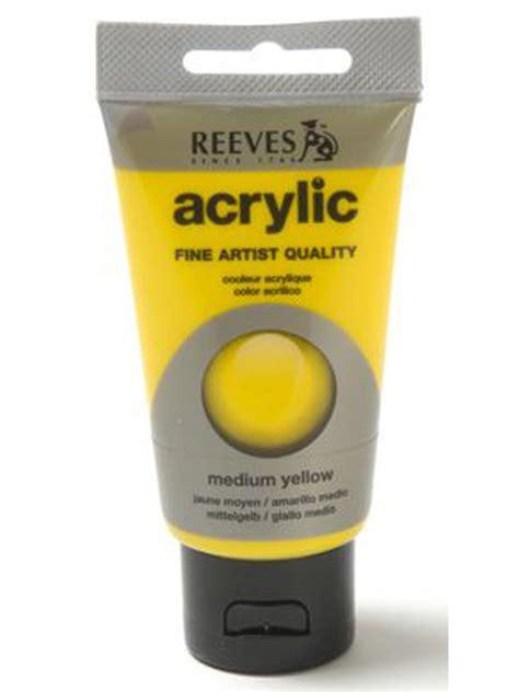 Papertree Reeves Acrylic Paint Medium Yellow