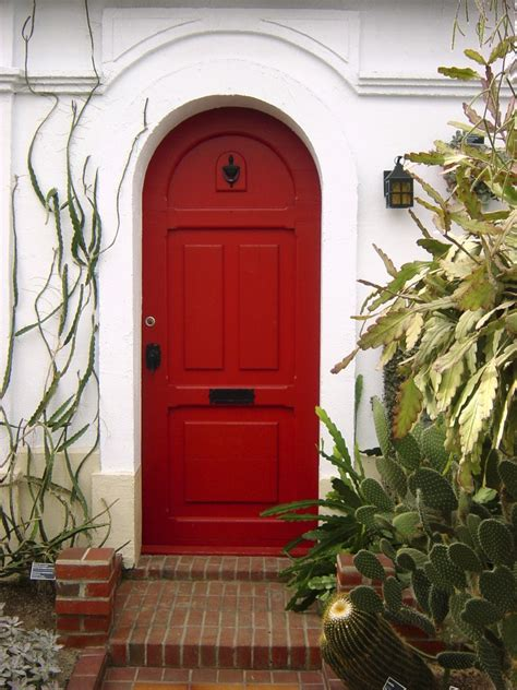 painting the front door of your house the meaning of painting the front door