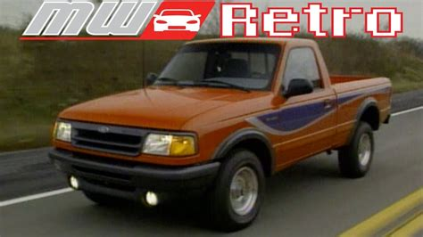 1993 Ford Ranger by 1993 Ford Ranger Stx Retro Review