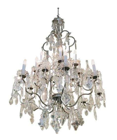 1940s chandelier 1940s large chandelier from the new york city