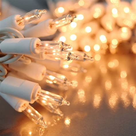 white light strings clear white string lights white wire