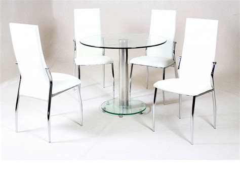 Glass Top Dining Room Set glass dining table simple with glass dining table